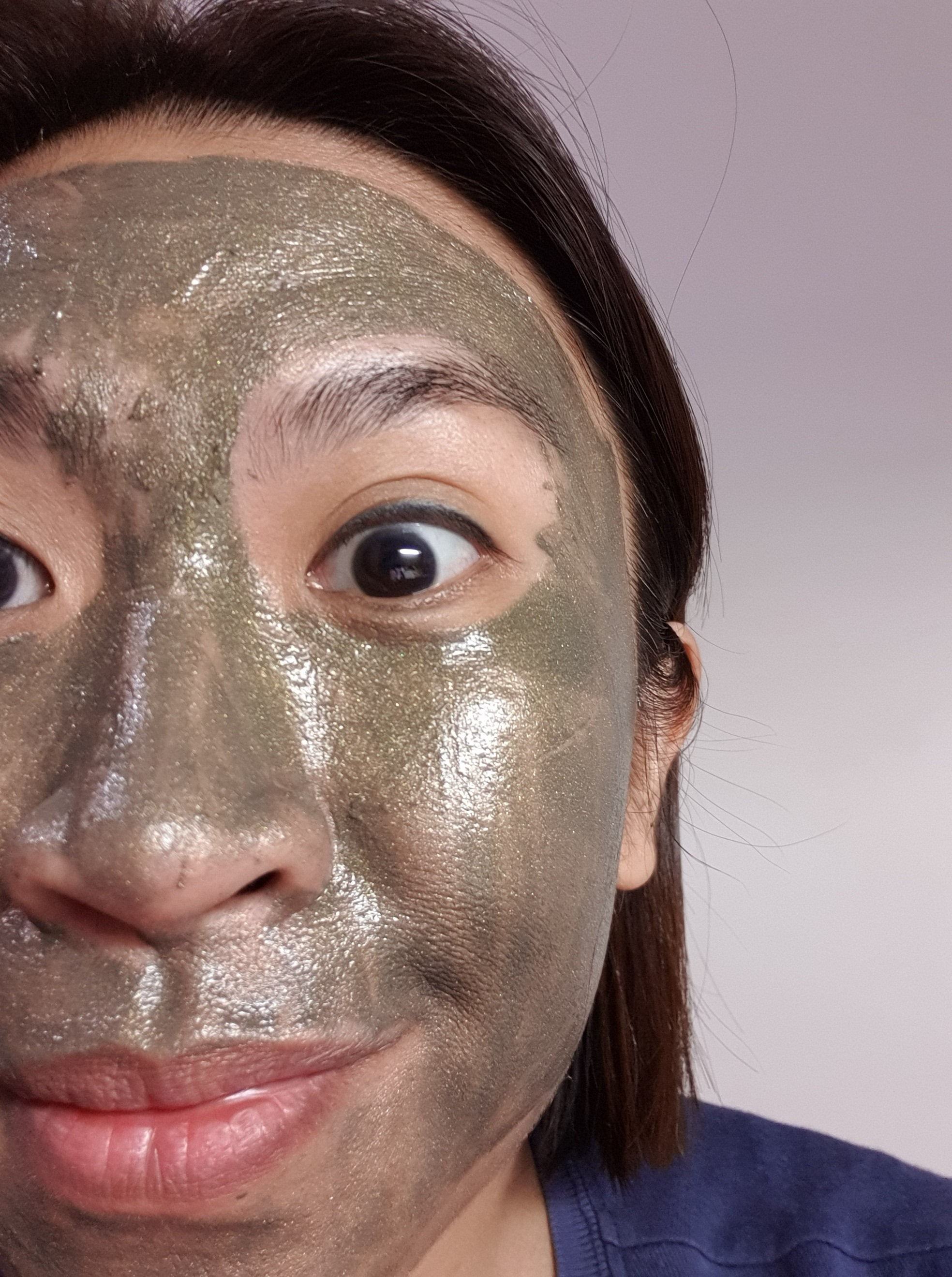 Amidst home schooling, clinical work & household chores, here I am trying to keep my sanity the best way I know how -- masking! LOL!