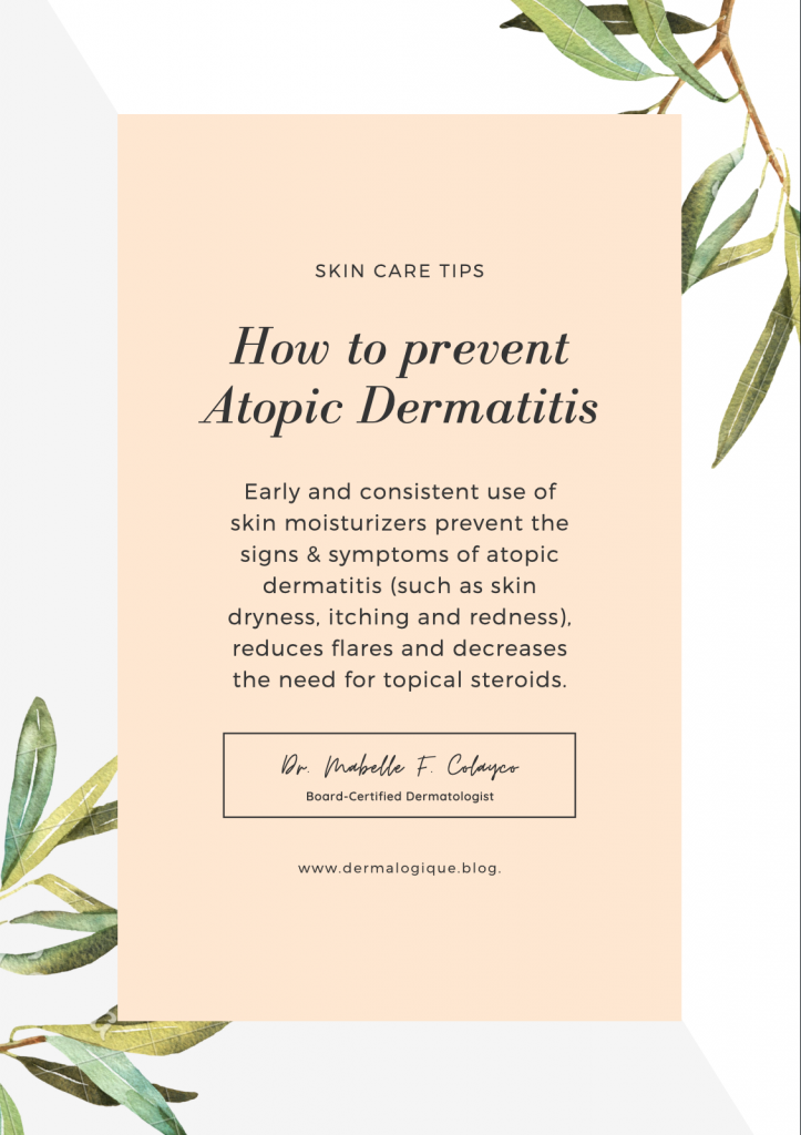 DrMabelleColayco skin moisturizers for atopic dermatitis 1